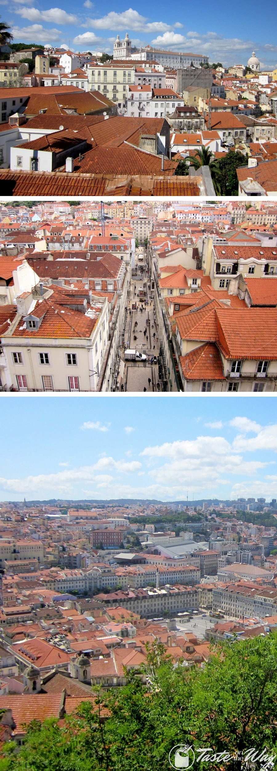 One of the top fun #thingstodo in #Lisbon, #Portugal is to find a good free spot to enjoy the views of rooftops. Check out for more! #travel #photography @tasteontheway