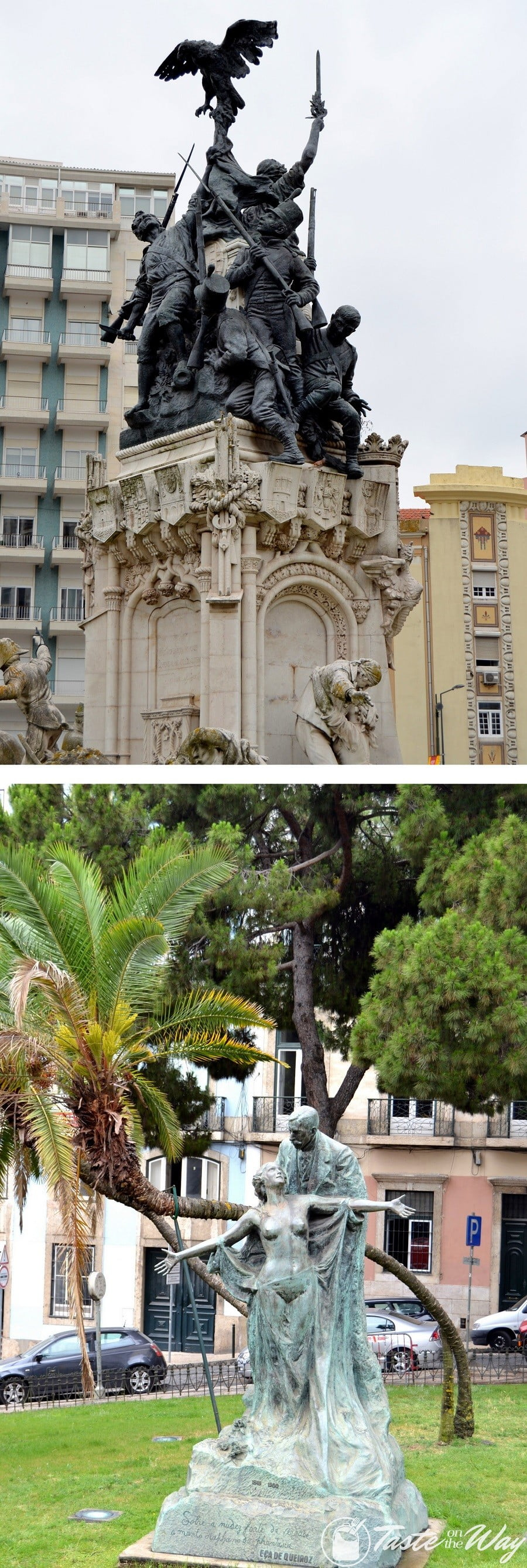 One of the top fun #thingstodo in #Lisbon, #Portugal is finding the most elaborate statues in the city. Check out for more! #travel #photography @tasteontheway
