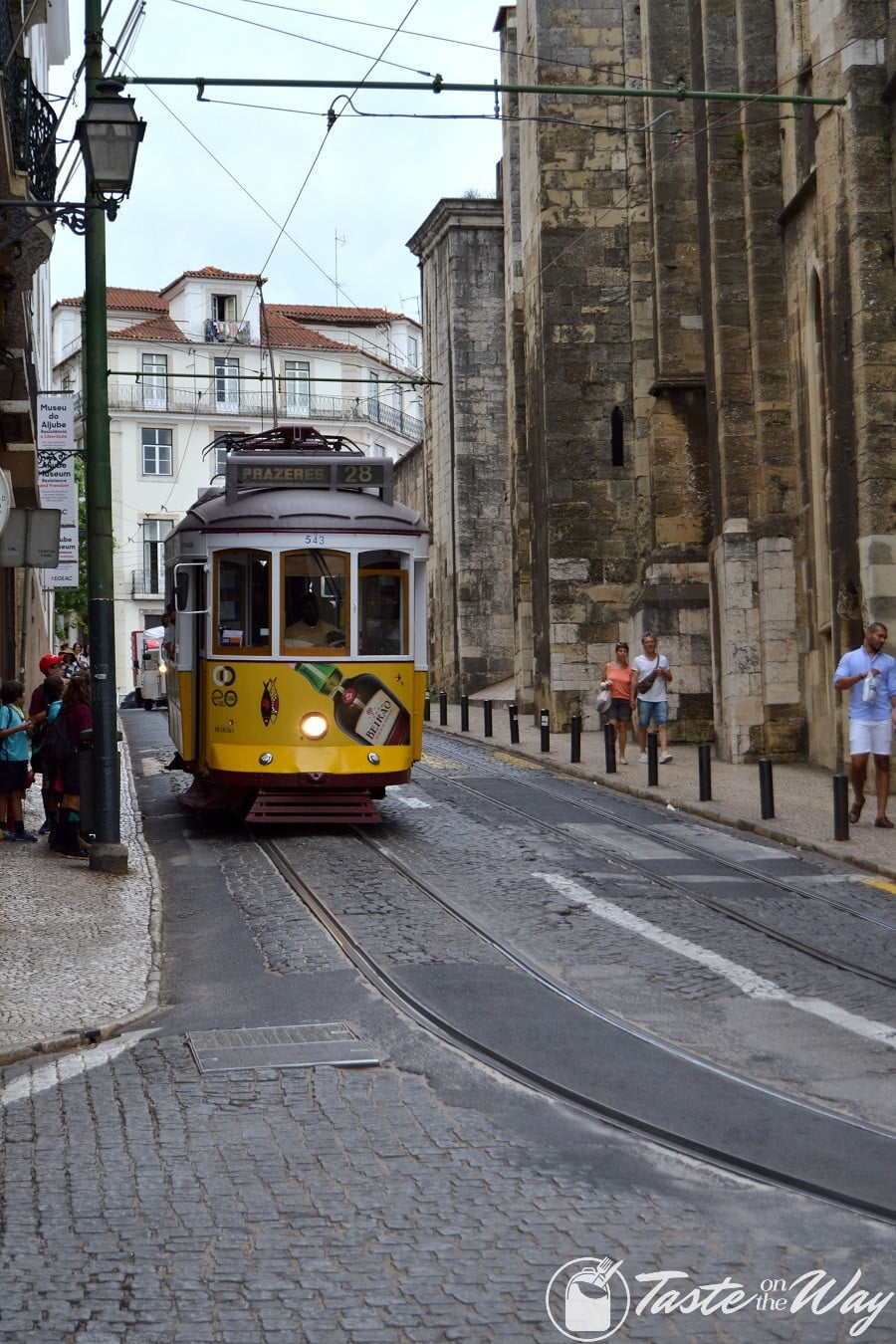 One of the top fun #thingstodo in #Lisbon, #Portugal is to take Tram 28 for a ride. Check out for more! #travel #photography @tasteontheway