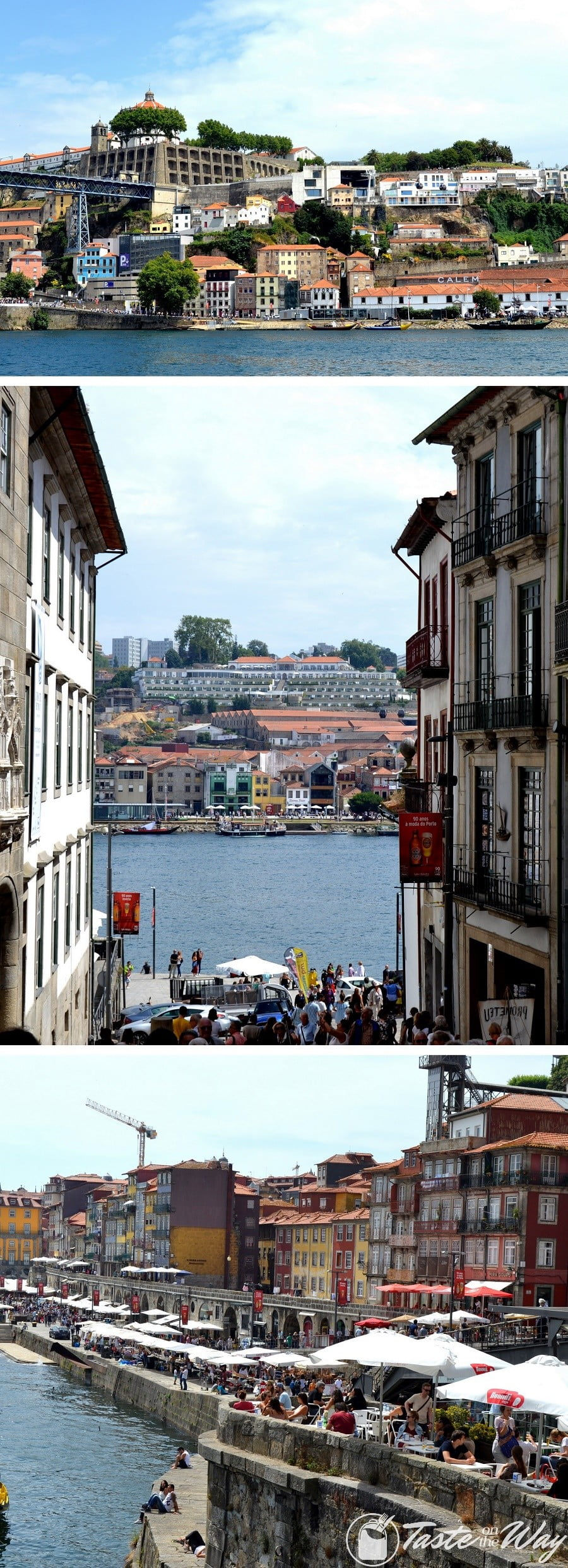 One of the top #thingstodo in #Porto, #Portugal is to have lunch by the river Douro in Vila de Nova Gaia. Check out for more! #travel #photography @tasteontheway