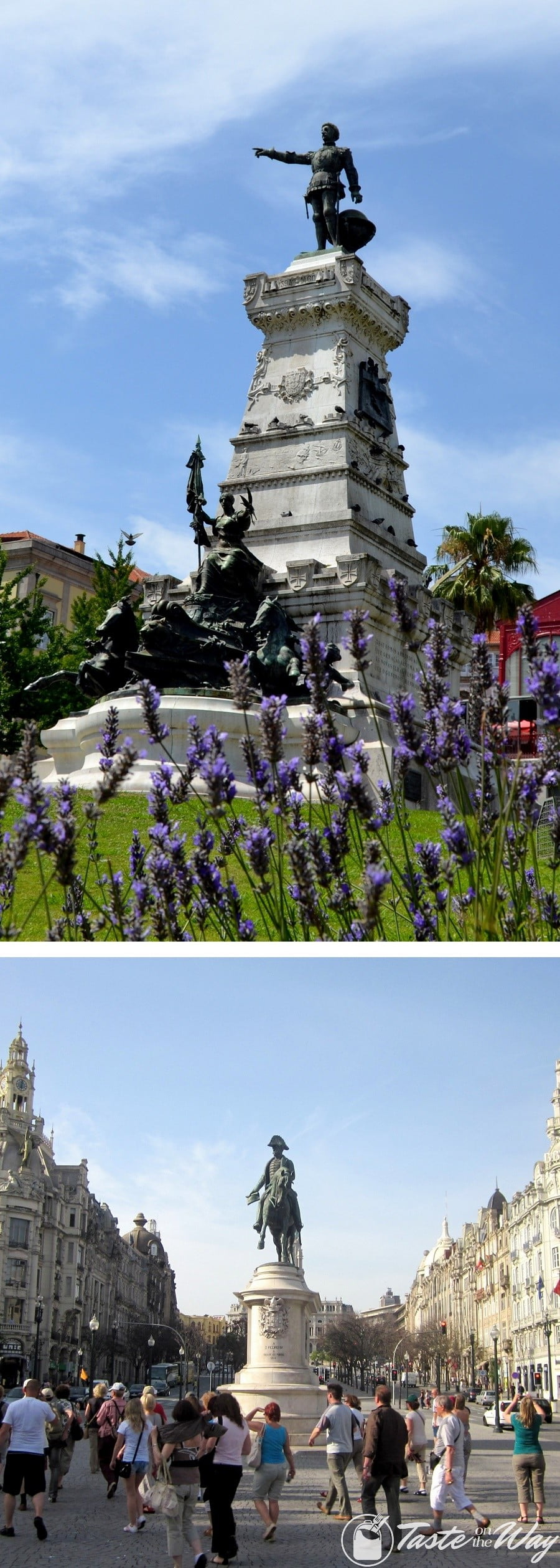 Check out our travel story about the monuments in Porto, Portugal with pictures @tasteontheway