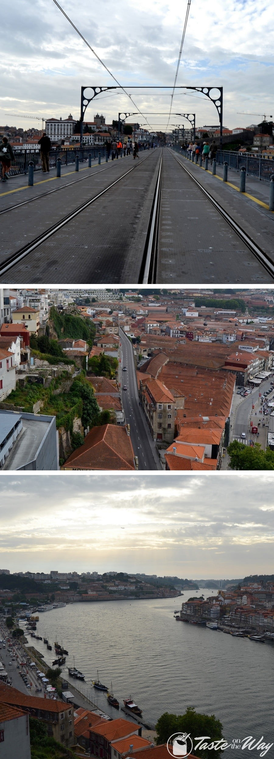 One of the top #thingstodo in #Porto, #Portugal is to climb all the way to the top of Dom Louis I bridge. Check out for more! #travel #photography @tasteontheway