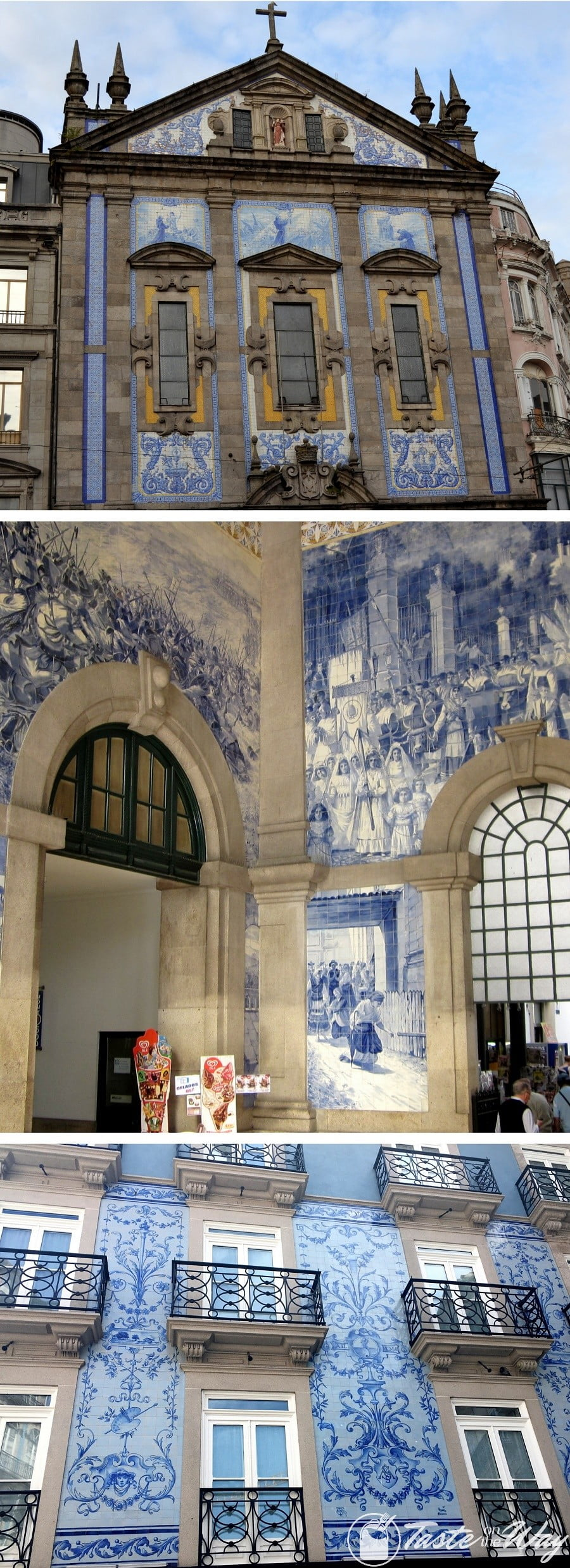 One of the top #thingstodo in #Porto, #Portugal is to catch a train at the Sao Bento Station. Check out for more! #travel #photography @tasteontheway