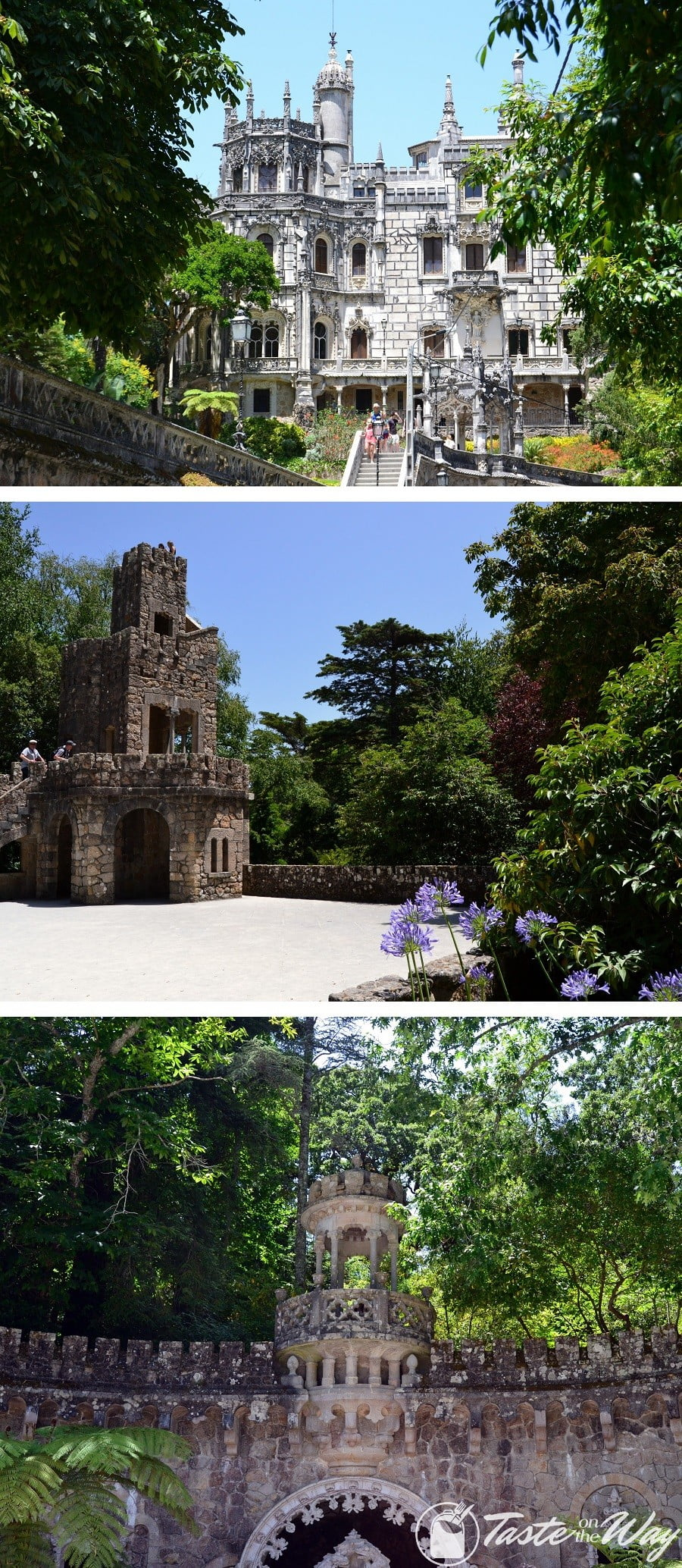 One of the top things to do on a #daytrip to #Sintra, #Portugal is to explore mystical gardens of Quinta de Regaleira. Check out for more! #travel #photography @tasteontheway