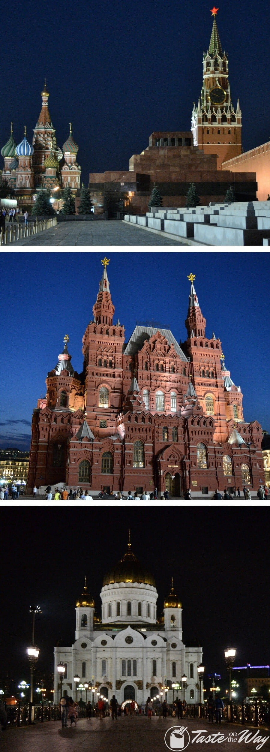 One of the top #thingstodo in #Moscow, #Russia is visiting the Red Square during the day and at night. Check out for more! #travel #photography @tasteontheway