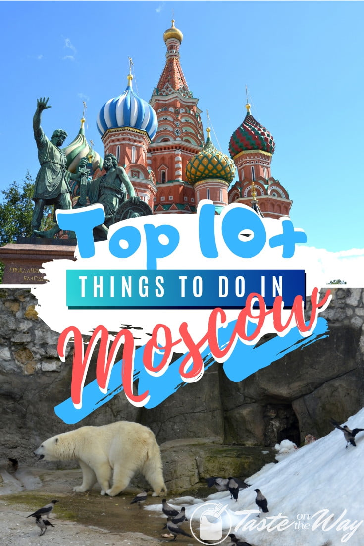 Visiting Moscow anytime soon? Here are the top 10 best things to do while there that you can add to your bucket list. Great list worth saving! #travel #russia #moscow #bucketlist