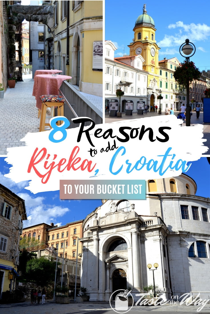 Visiting Croatia and looking for places to add to your itinerary? Consider adding Rijeka to your bucket list - it's an amazing place to visit! Here are the top 8 reasons why! #travel #europe #croatia