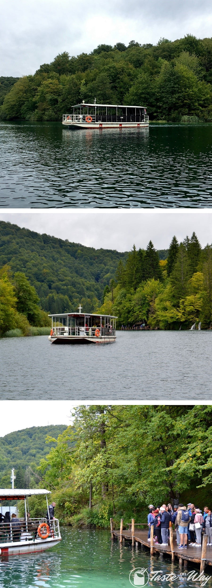 One of the top #tips visiting #Plitvice Lakes National Park in #Croatia is to take a boat trip on lake Kozjak. Check out for more! #travel #photography @tasteontheway