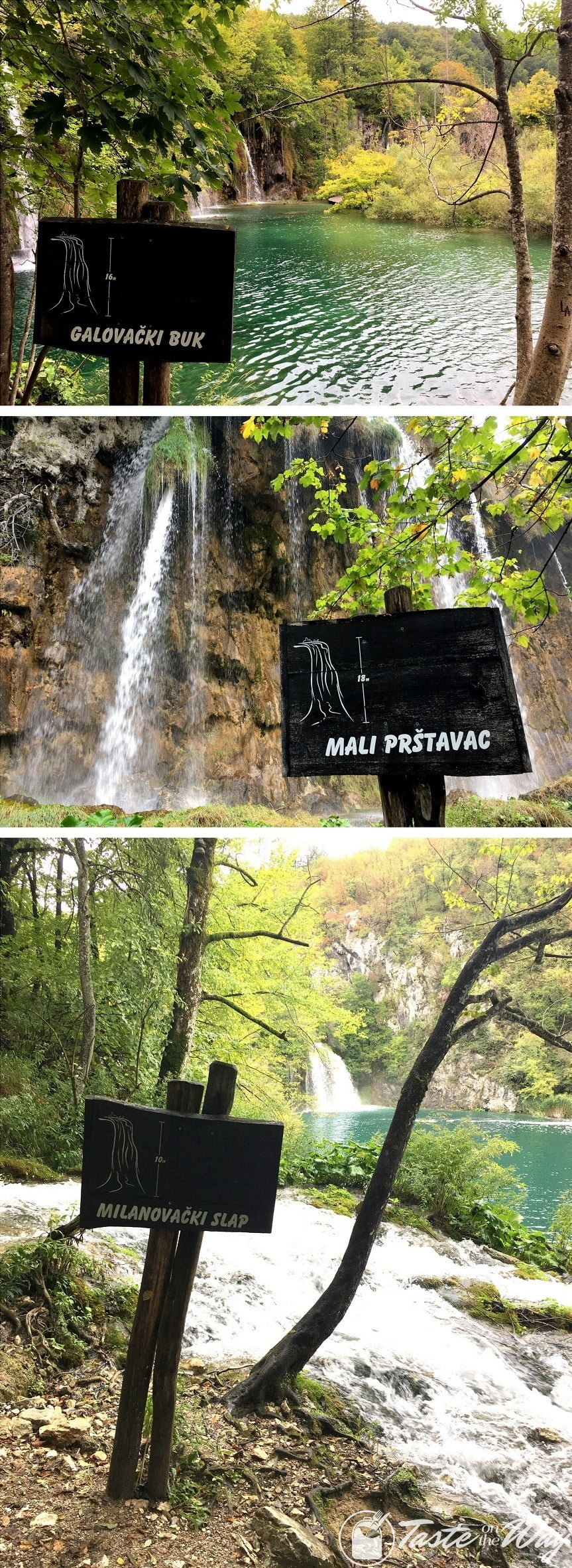 One of the top #tips visiting #Plitvice Lakes National Park in #Croatia is to get closer to the waterfalls. Check out for more! #travel #photography @tasteontheway