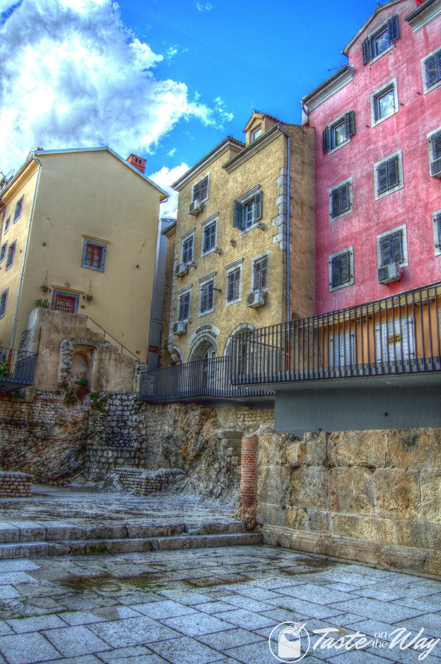 Check out these stunning pictures of the old town of Rijeka, #Croatia #photography #hdr #travel @tasteontheway