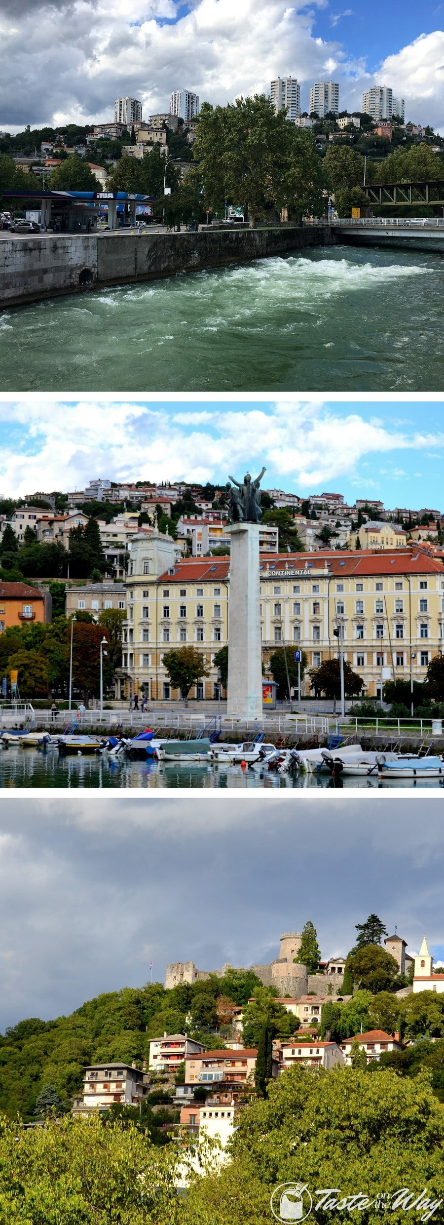 One of the top reason on why you should add #Rijeka to your #Croatia #itinerary is a beautiful river-side promenade. Check out for more! #travel #photography @tasteontheway