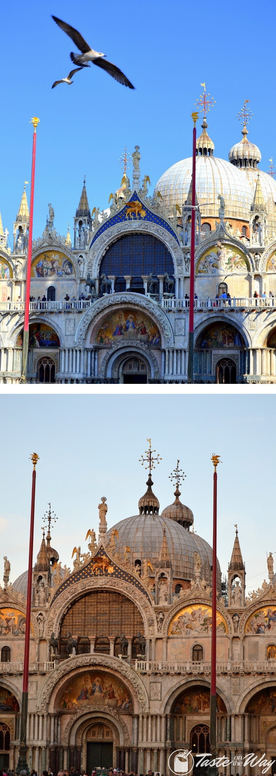 Check out these awesome pictures of San Marco Basilica in #Venice #travel #photography @tasteontheway