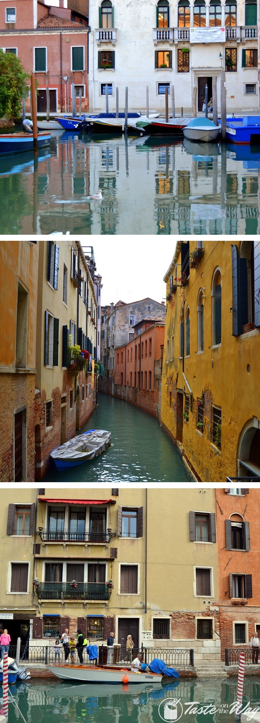 Check out these awesome pictures of canals in #Venice #travel #photography @tasteontheway