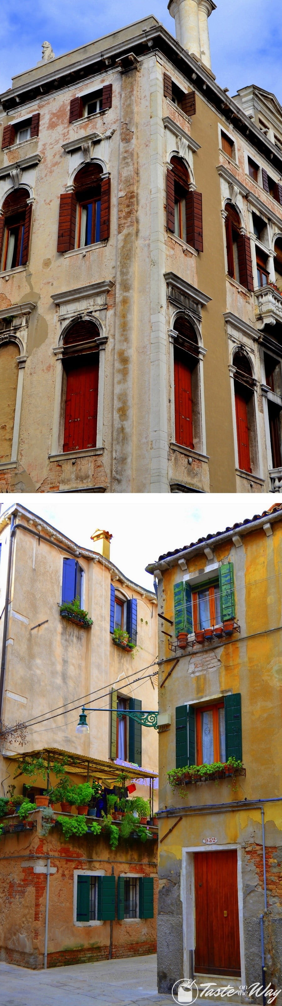 Check out these awesome pictures of colorful houses in #Venice #travel #photography @tasteontheway
