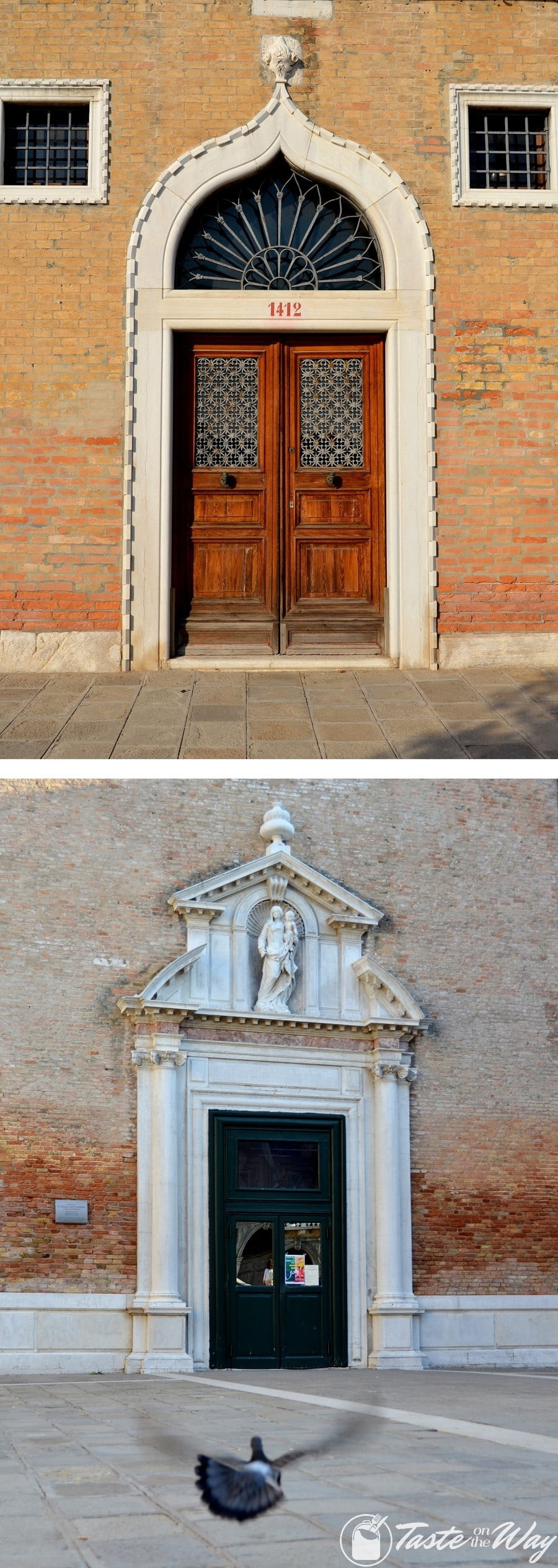 Check out these awesome pictures of architecture details in #Venice #travel #photography @tasteontheway