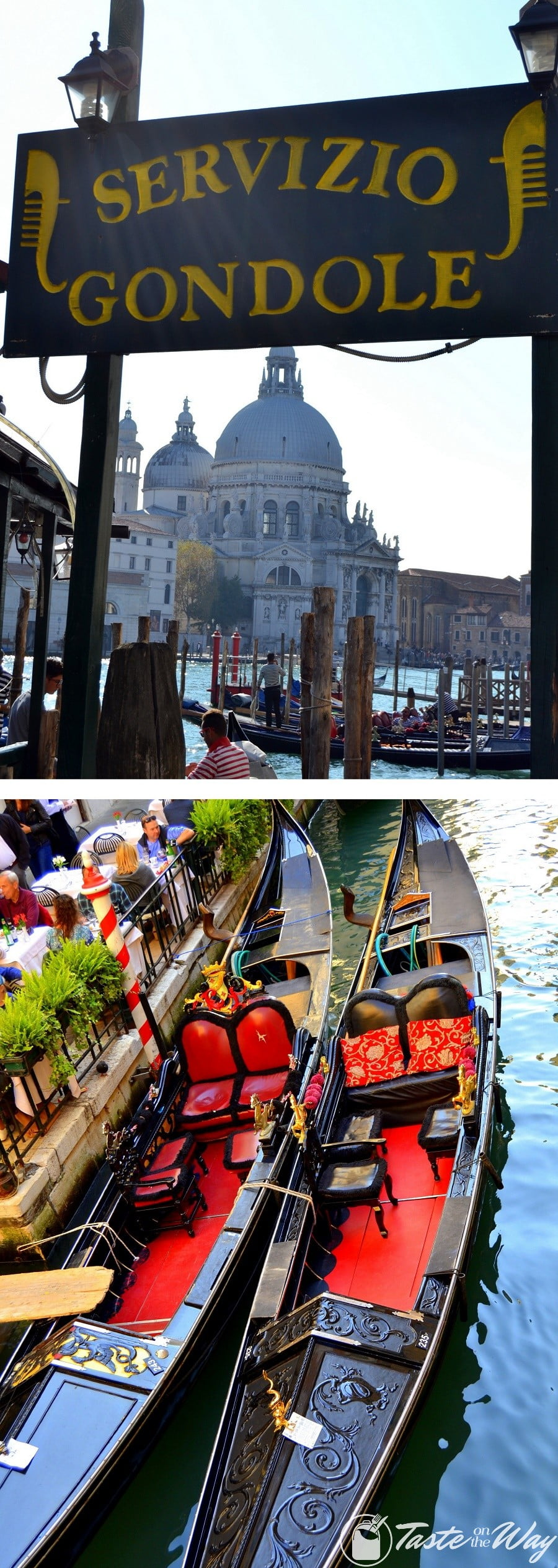 Check out these awesome pictures of gondolas in #Venice #travel #photography @tasteontheway