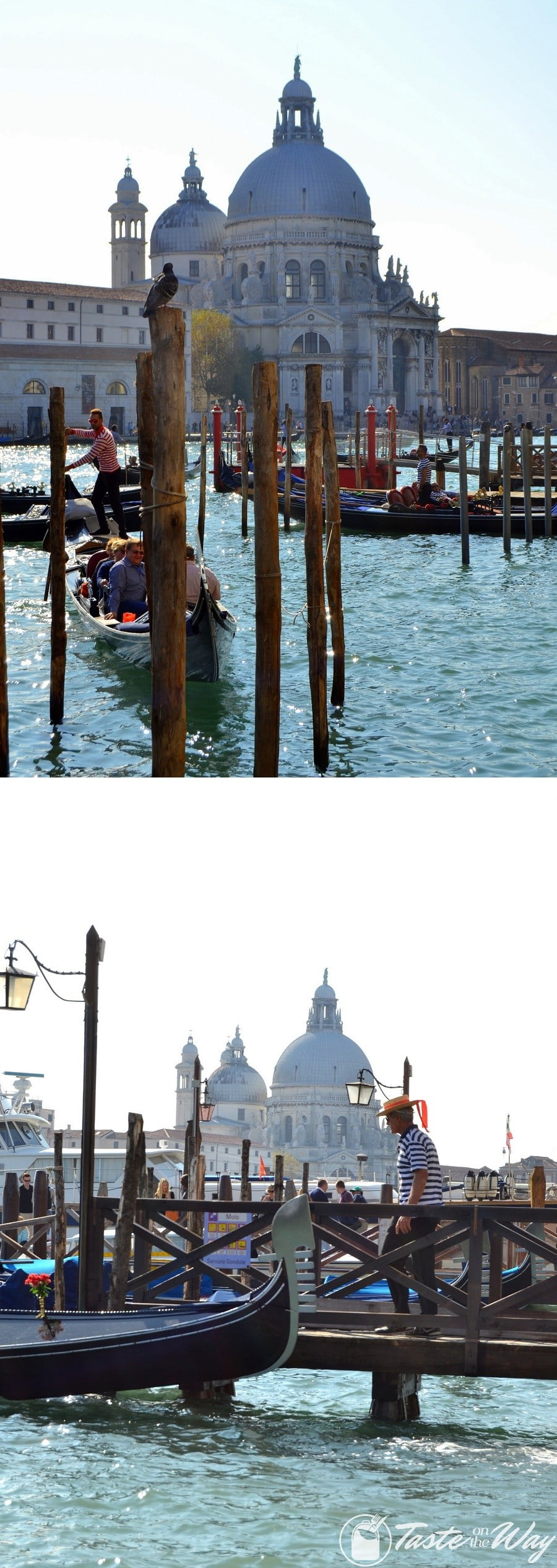 Check out these awesome pictures of Basilica di Santa Maria della Salute in #Venice #travel #photography @tasteontheway