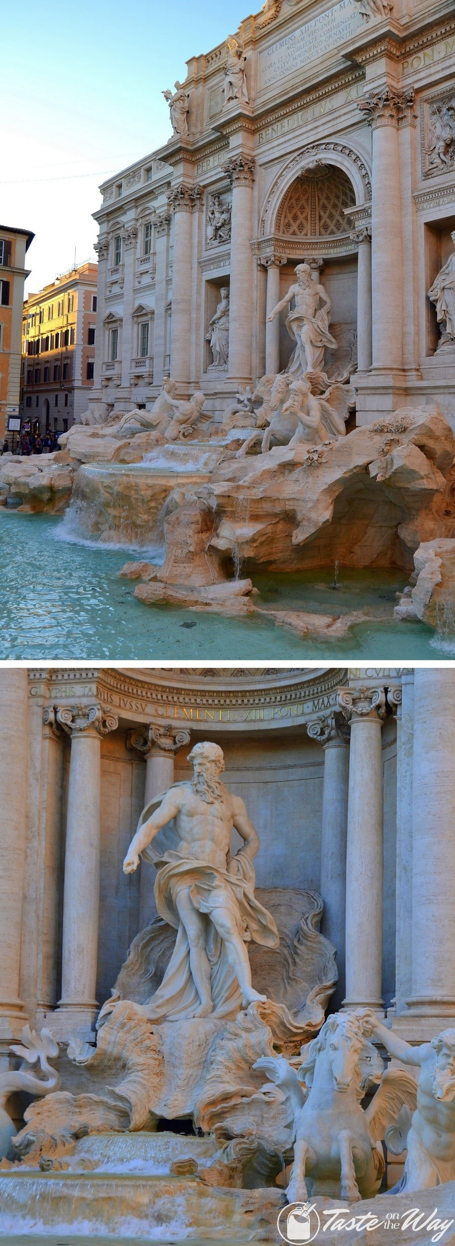 Visiting the Trevi Fountain is one of the top #thingstodo in #Rome, #Italy. Check out for more! #travel #photography