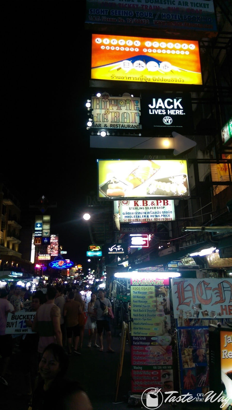 Top 10 Best Things to Do in Bangkok - Visiting the Khao San Road at night is just one of the top #thingstodo in #Bangkok, #Thailand. Check out for more! #travel #photography @tasteontheway