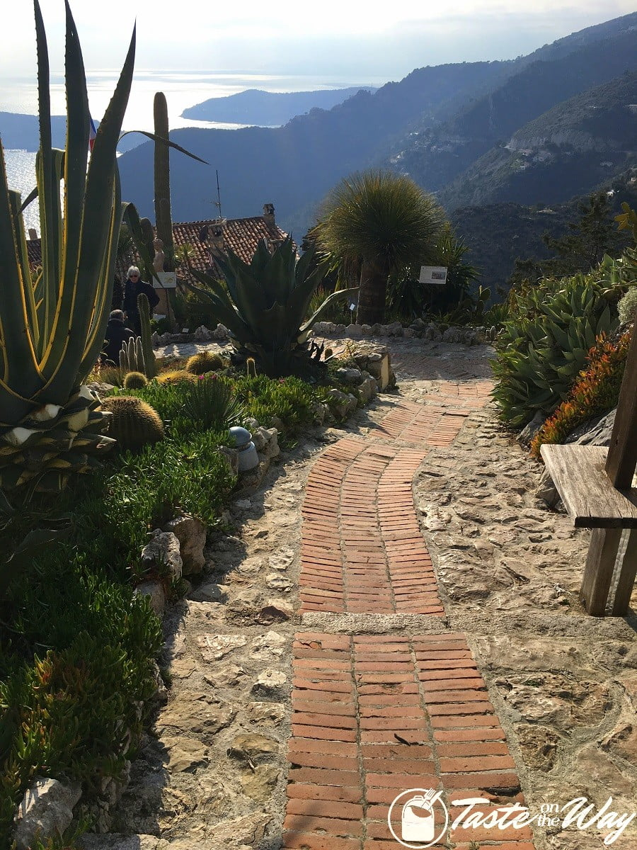 Things to Do in Eze Village, France - path overlooking the sea #travel #photography #France
