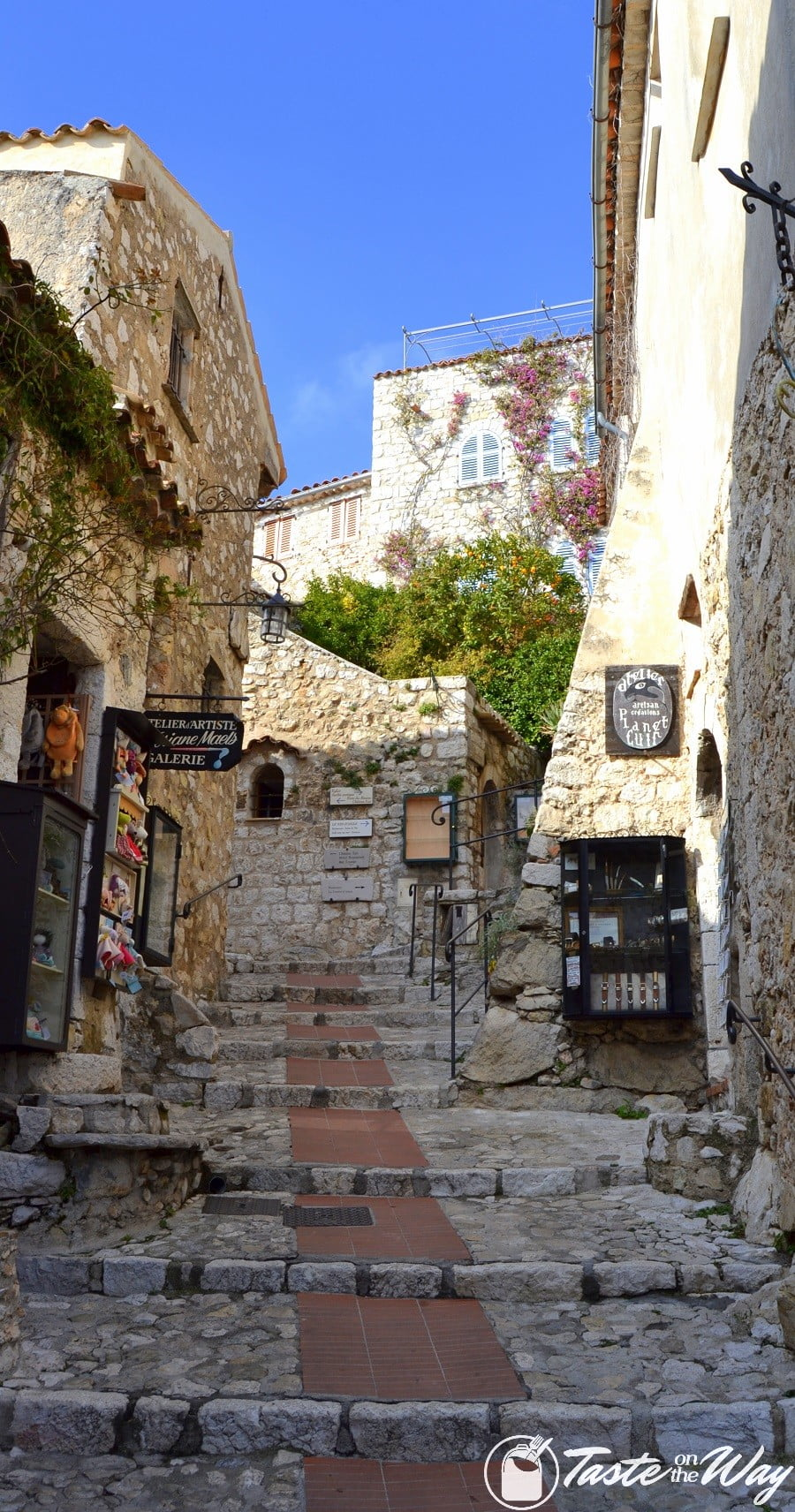Things to Do in Eze Village, France - village streets and shops #travel #photography #France
