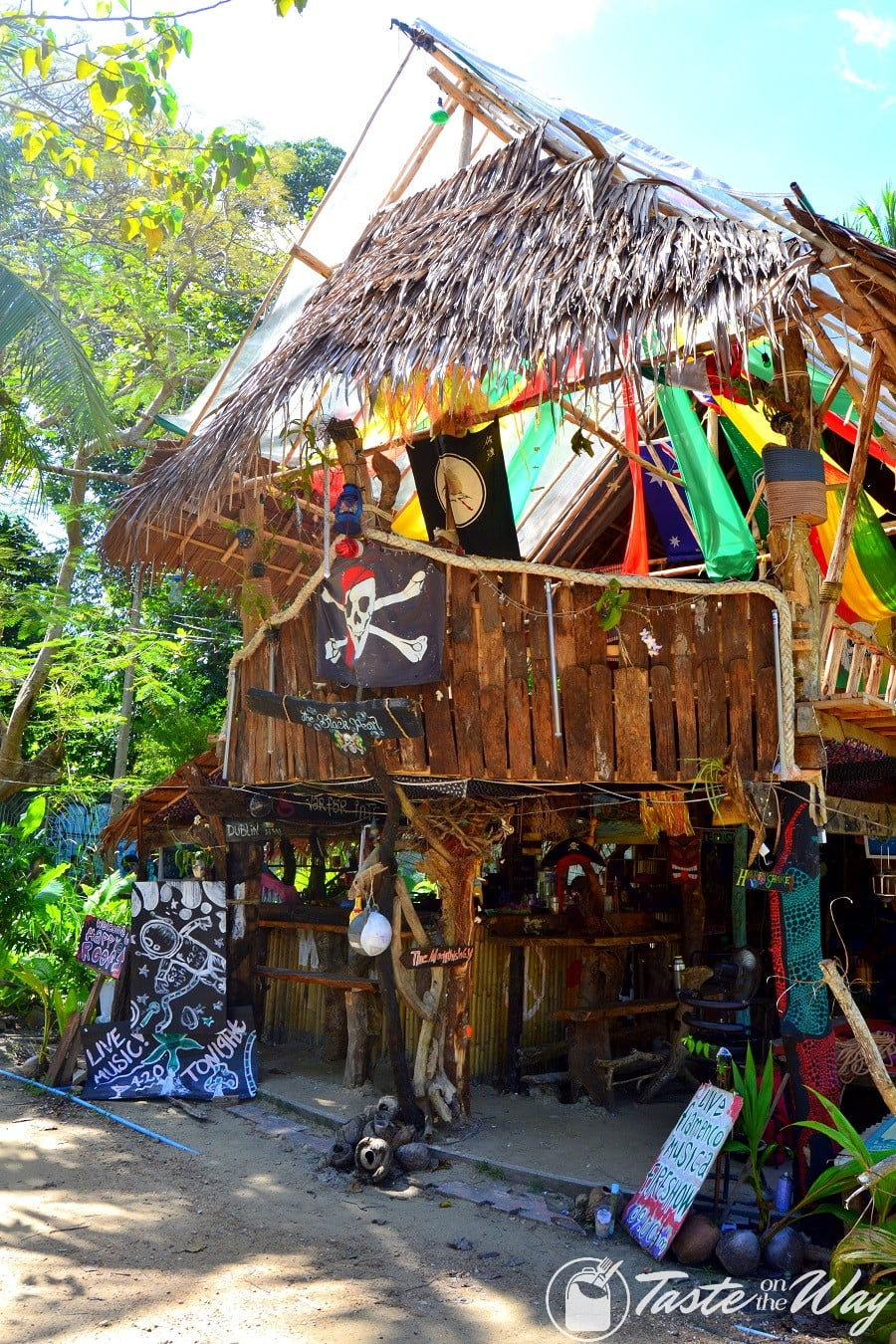 Bar in the jungle of Ao Nang near Railey Beach #Krabi #Thailand #travel
