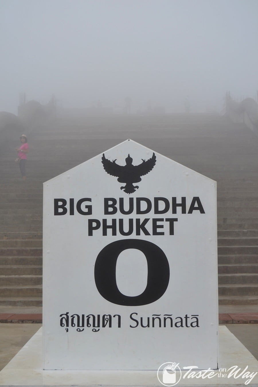 Big Buddha in the mist #Phuket #Thailand #travel
