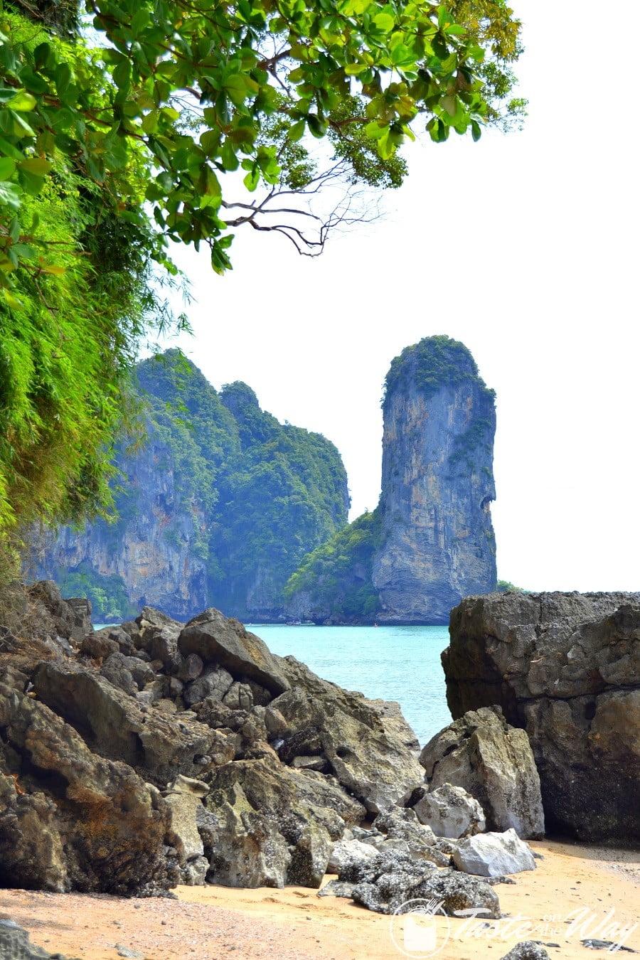 Railey Beach in Ao Nang, Krabi #Thailand #travel