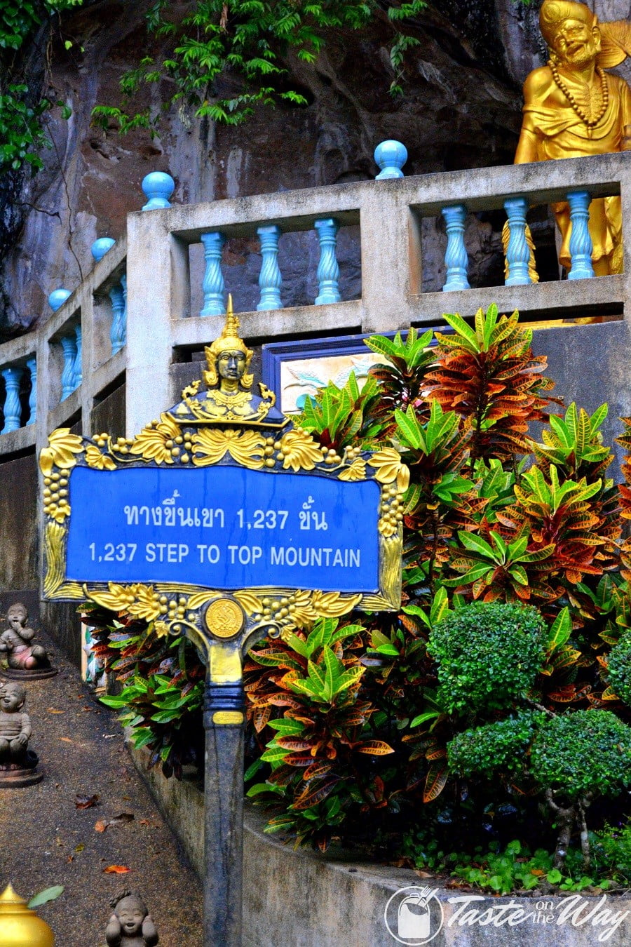 Tiger Cave Temple stairs to the top #Thailand #Krabi #travel