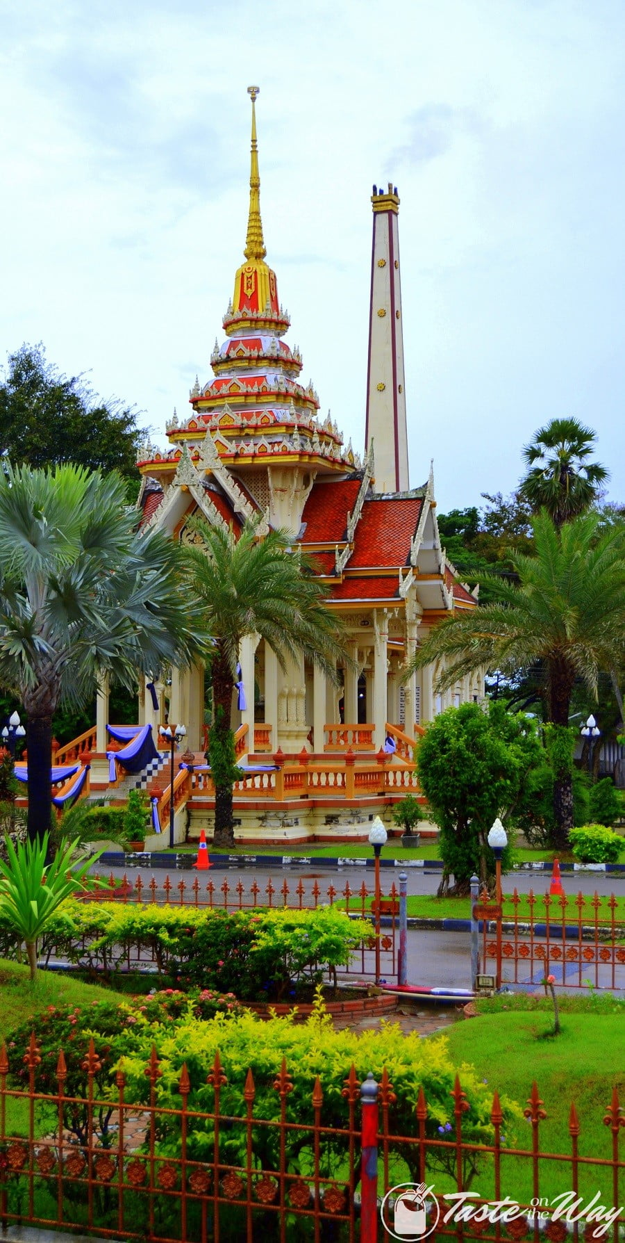 Wat Chaithararam in Phuket Town #Thailand #travel