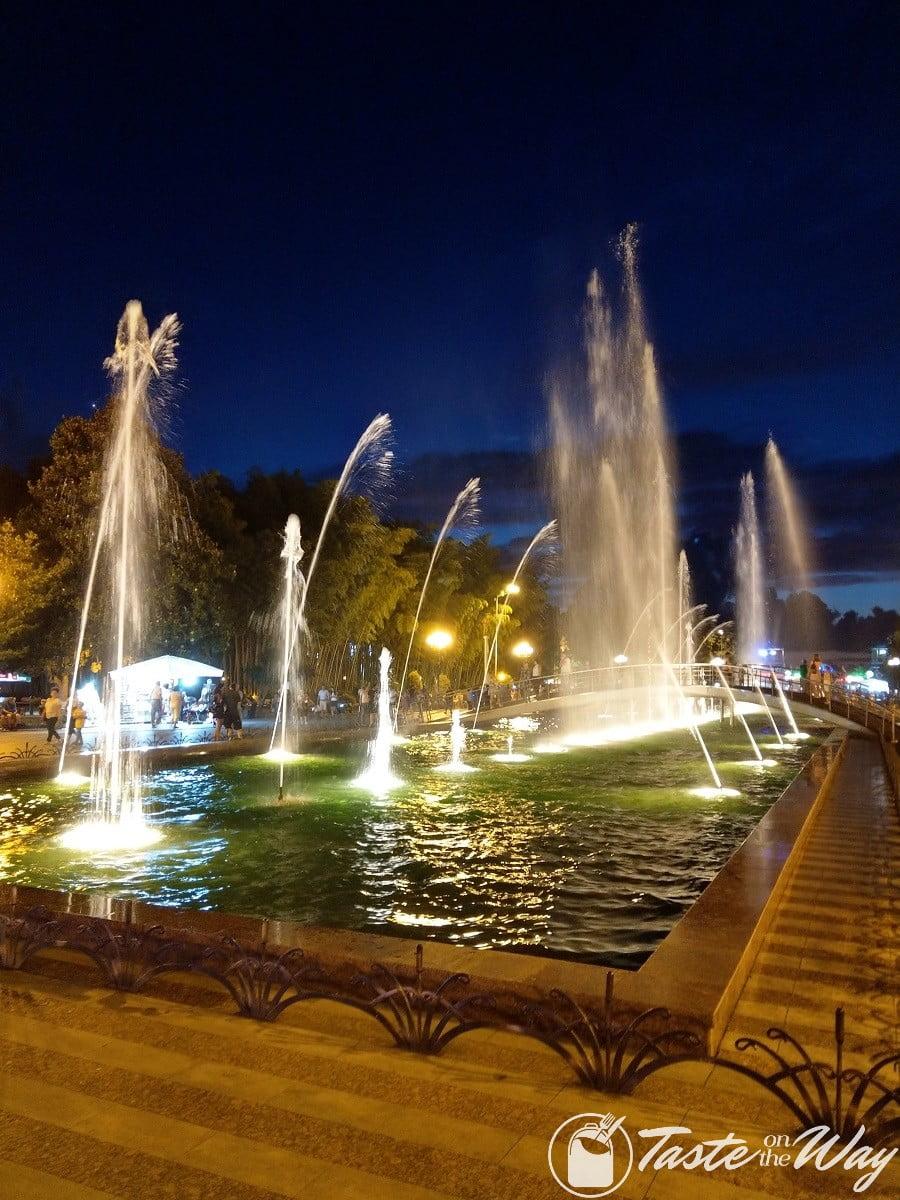 Batumi Boulevard Dancing Fountains #travel
